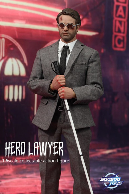[SST-013] Hero Lawyer 1/6 Collectible Figure by SooSoo Toys