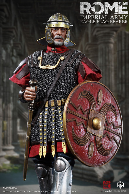 [HY-HH18003] 1:6 Roman Imperial Army Aquilifer by HH model X HaoYu Toys