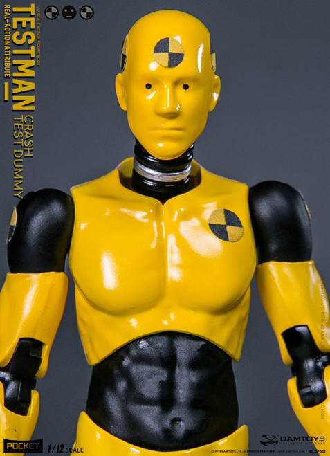 [DAM-DPS02] 1/12 TestMan Dummy Action Figure by Dam Toys
