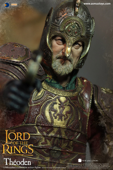 [ASM-LOTR022] 1/6 The Lord of the Rings Series THÉODEN Figure by Asmus Toys
