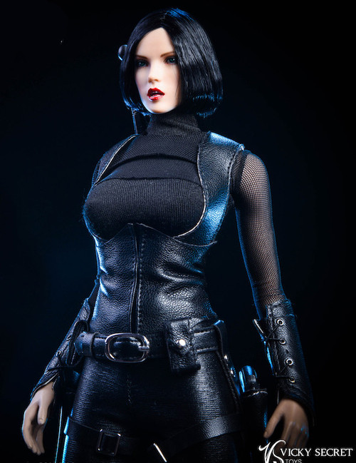 [VST-19XG48B] 1/6 Black Weasel Clothing Set by VS Toys