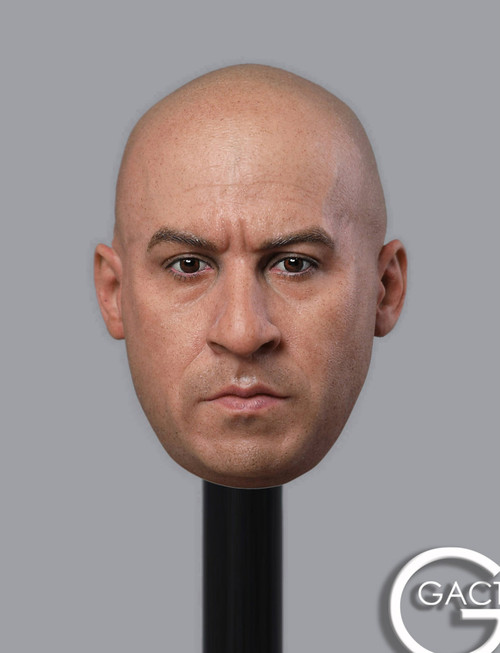 [GAC-030] 1:6 Male Head Sculpt by GACTOYS