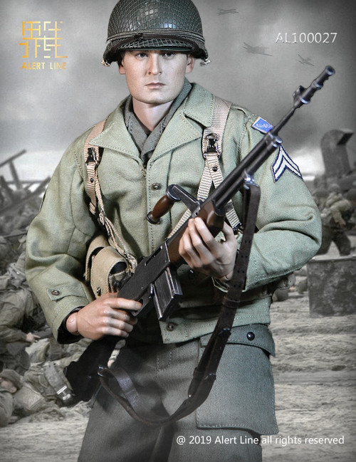 [AL-100027] 1:6 WWII U.S. Army Uniform by Alert Line