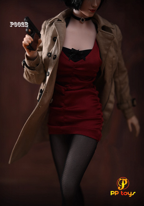 [PPT-P002B] 1/6 Female Agent Suit B Figure Accessories by Pptoys