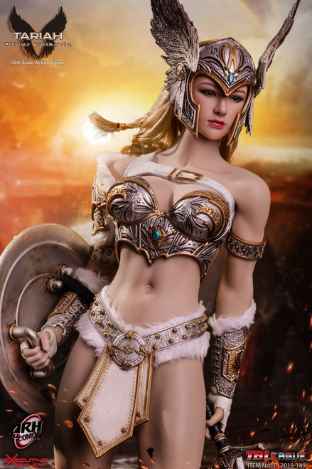 [PL2019-149] 1/6 Tariah Silver Valkyrie Figure by TBLeague Phicen