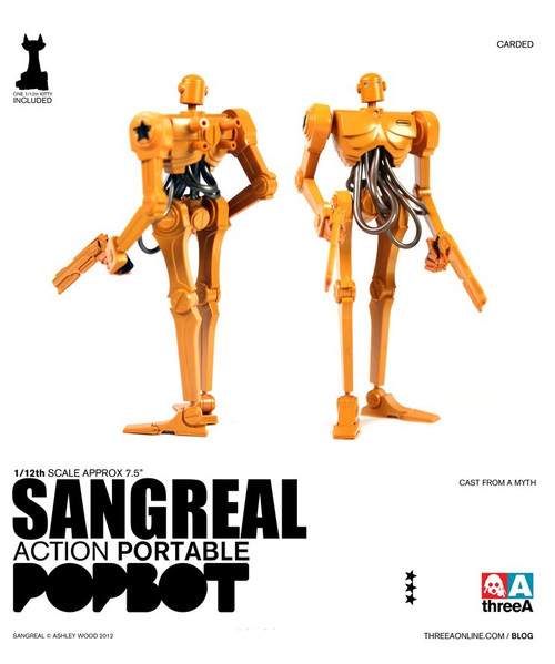 THREEA Action Portable Popbot Sangreal (3A-SANGREAL)
