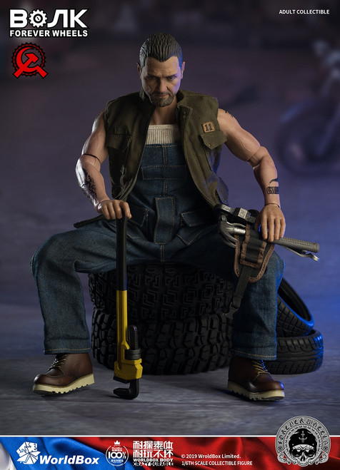 [WB-AT031] Motor Mechanic 1/6 Figure by World Box by World Box