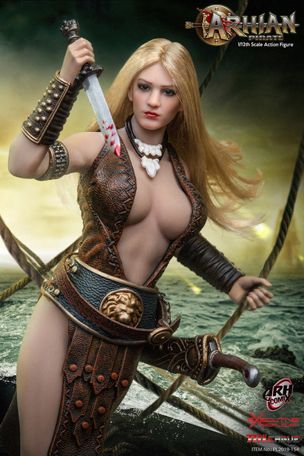 [PL2019-154] Arhian Pirate 1/12th Figure by TBLeague Phicen