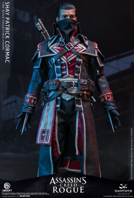 [DMS011] 1/6 Assassin's Creed Rogue Shay Patrick Cormac Figure by Dam Toys