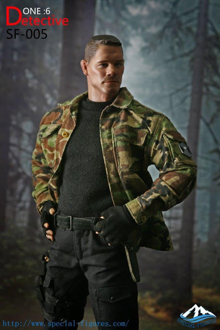 [SF-005B] 1:6 Camo Detective Collectible Boxed Figure by Special Figures
