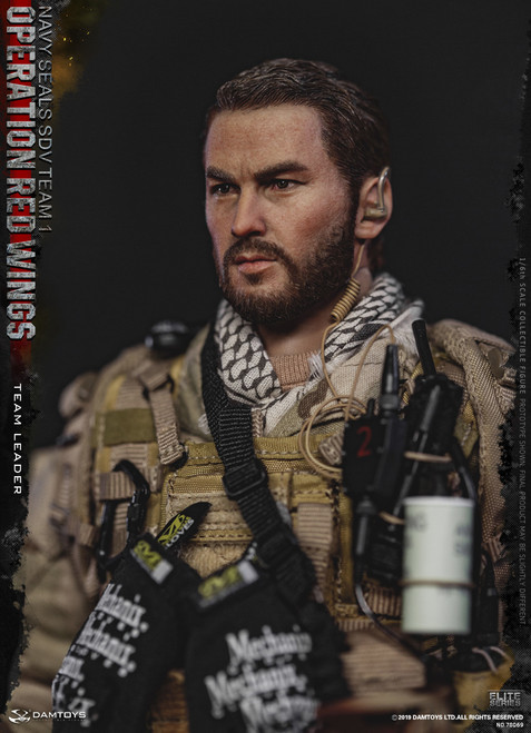 [DAM-78069] 1/6 Operation Red Wings NAVY SEALS SDV TEAM 1 Team Leader Figure by DAM Toys