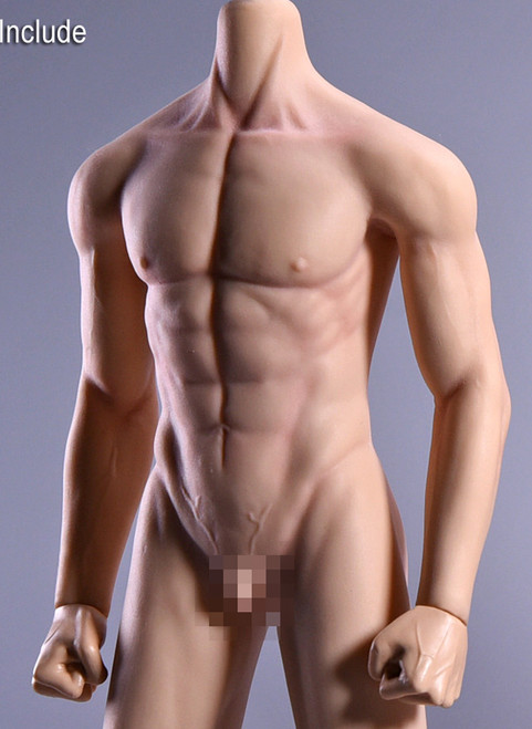 [JOK-11C-YS] Normal Male Body Pale Skin with Detachable Foot by Jiaou Doll