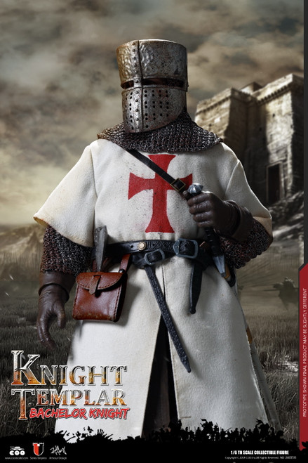 [CM-SE056] BACHELOR OF KNIGHTS TEMPLAR 1:6 Figure by COO Model
