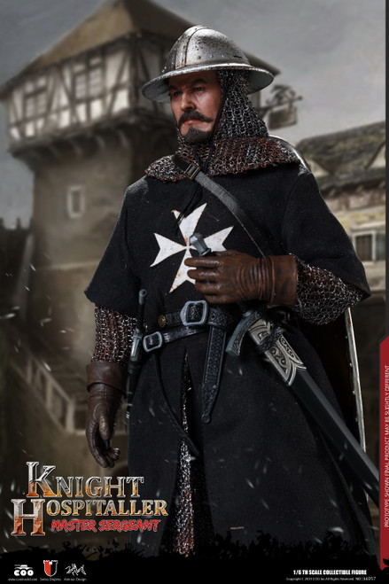 [CM-SE057] SERGEANT OF KNIGHTS HOSPITALLER 1:6 Figure by COO Model