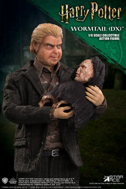 [SA-0073] Peter Pettigrew Wormtail Deluxe in Harry Potter and the Prisoner of Azkaban by Star Ace