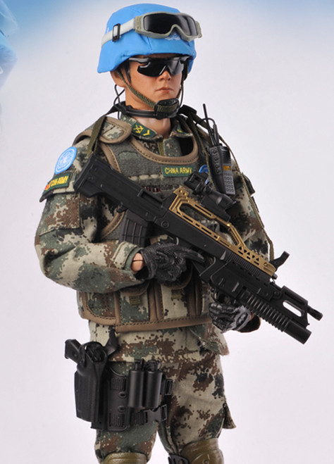 [KH-CH03] 1/6 Chinese Peacekeepers Figure by KAD Hobby