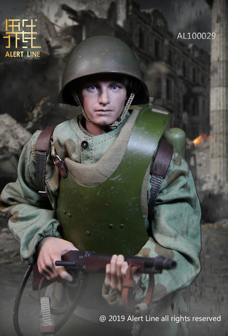 [AL-100029] 1:6 WWII Soviet Red Army Combat Engineer Figure by Alert Line