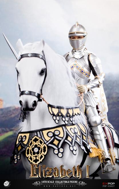 [POP-EX027C] 1/6 Queen Elizabeth War Horse by POPTOYS