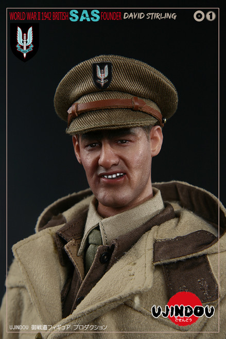 [UD-90001] 1/6 WWII British SAS Founder Sir David Stirling 1942 by UJINDOU