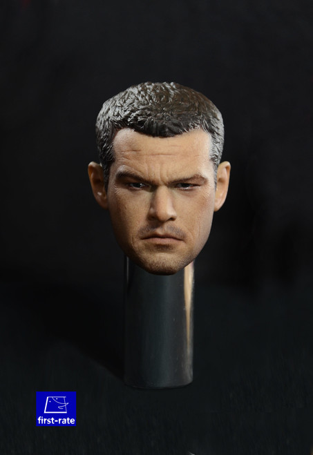 [FR-004] 1/6 Action Figure Agent Head by First-Rate