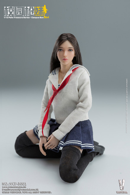 [VCF-3001] 1:12 Campus Gun Girl Action Figure Set by Very Cool