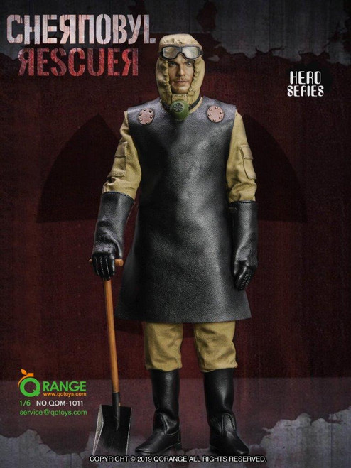 [QOM-1011] The Chernobyl Rescuer Figure Accessories by QO Toys