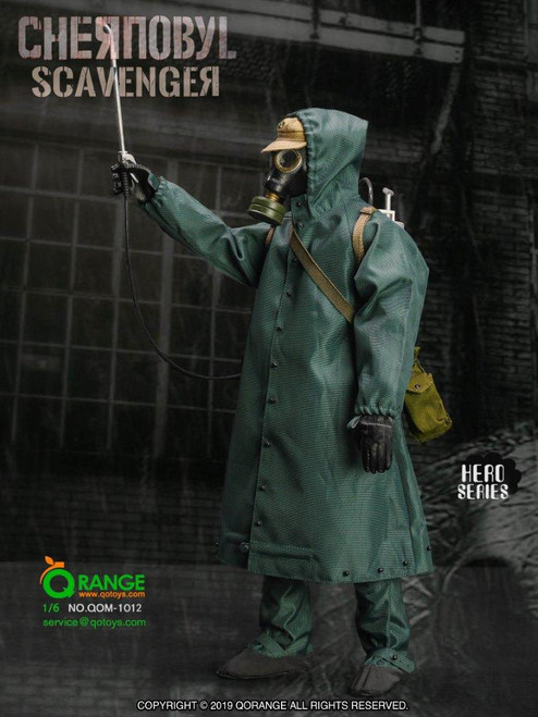 [QOM-1012] The Chernobyl Scavenger Figure Accessories by QO Toys
