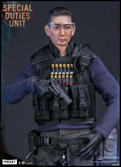 [DAM-PES008] 1/12 Pocket Elite Hong Kong SDU Sam Sir Figure by DAM Toys