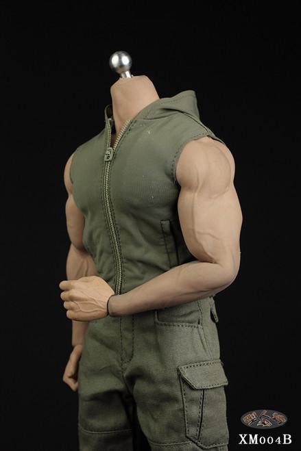 [XM-004B] 1/6 Green Hoodie & Pants Set by XRF