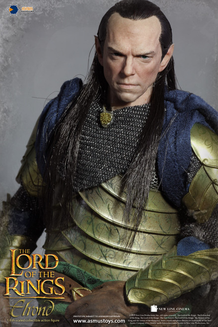 [ASM-LOTR024] 1/6 Elrond Figure in Lord of the Rings Movie by Asmus Toys