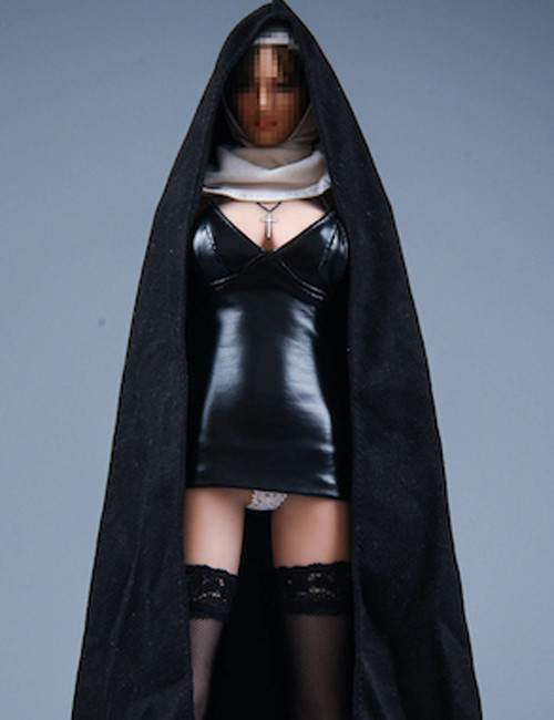 [VST-19XG60A] 1/6 Leather Skirt Gothic Outfit by VS Toys