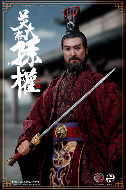 [303T-MP006] SUN QUAN ZHONGMOU, EMPERER OF WU EXCLUSIVE VERSION by 303 Toys