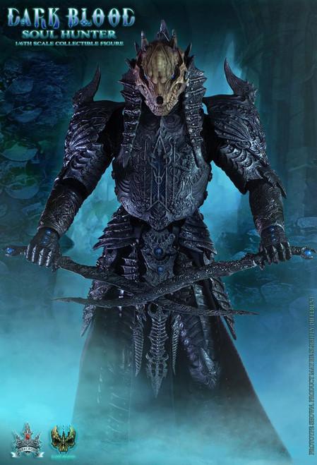 [DB003B] DarkCrownToys Dark Blood Soul Hunter Borken Horns 1:6 Scale Figure