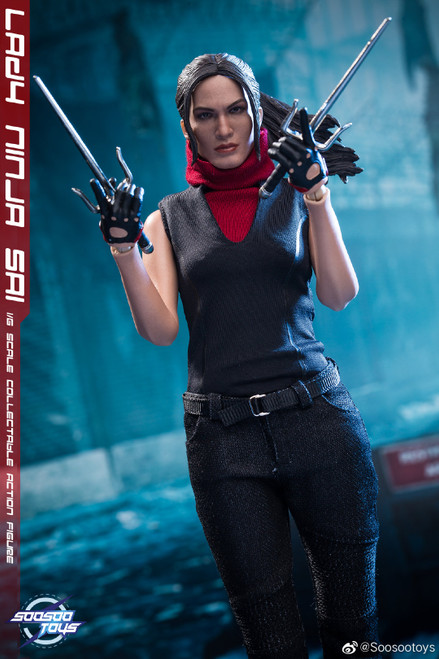 [SST-014] Lady Ninga Sai 1/6 Collectible Female Figure by SooSoo Toys