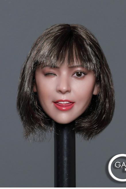 [GAC-036A] 1:6 Asian Cutie Women's Head Sculpt by GACTOYS