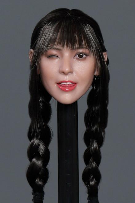[GAC-036B] 1:6 Asian Cutie Women's Head Sculpt by GACTOYS
