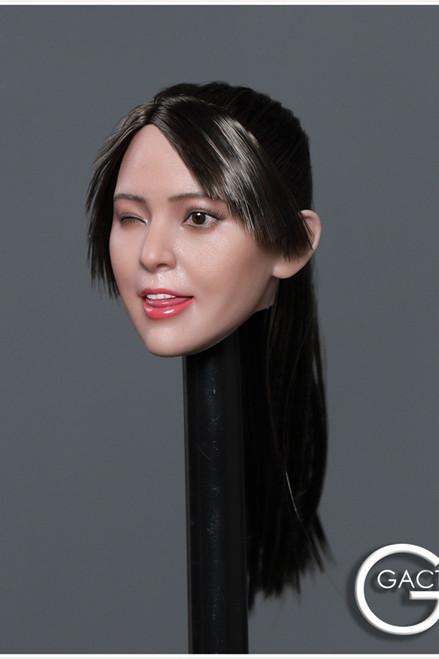 [GAC-036C] 1:6 Asian Cutie Women's Head Sculpt by GACTOYS