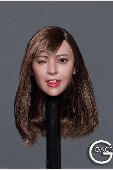 [GAC-036D] 1:6 Asian Cutie Women's Head Sculpt by GACTOYS