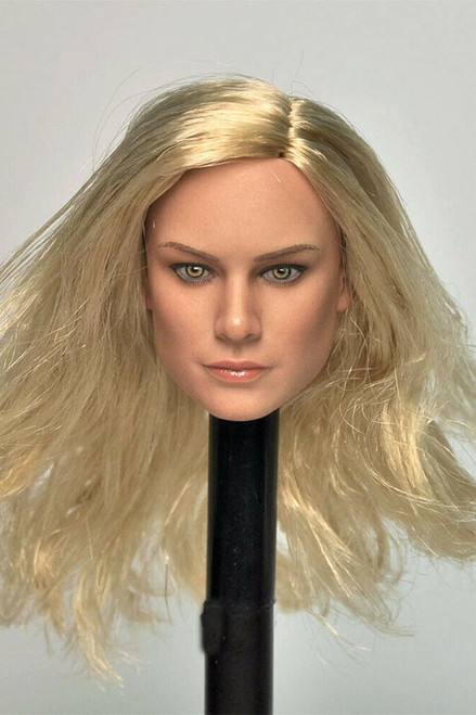 [MAN-M02D] 1/6 Custom Actress Heads with Blond Hair by Manco Toys