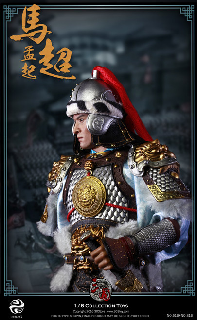 [303T-316H] 303 Toys Three Kingdoms Ma Chao Helmet