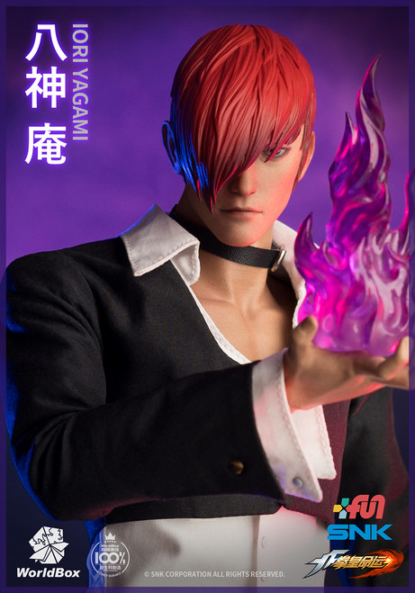 [WB-KF099] The King Of Fighters Iori Yagami 1/6 Figure by World Box
