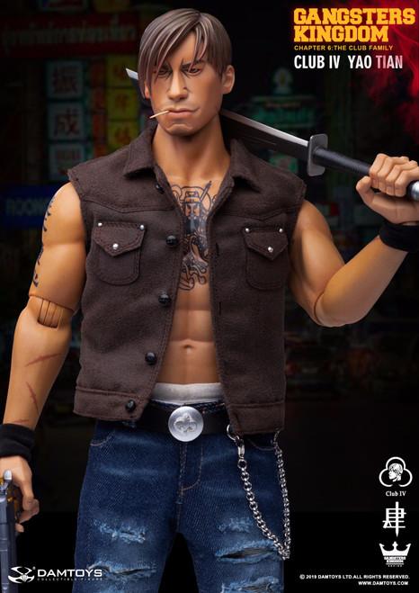 [DAM-GK019A] 1:6 Club 4 YaoTian Figure in Gangsters Kingdom by DAM TOYS