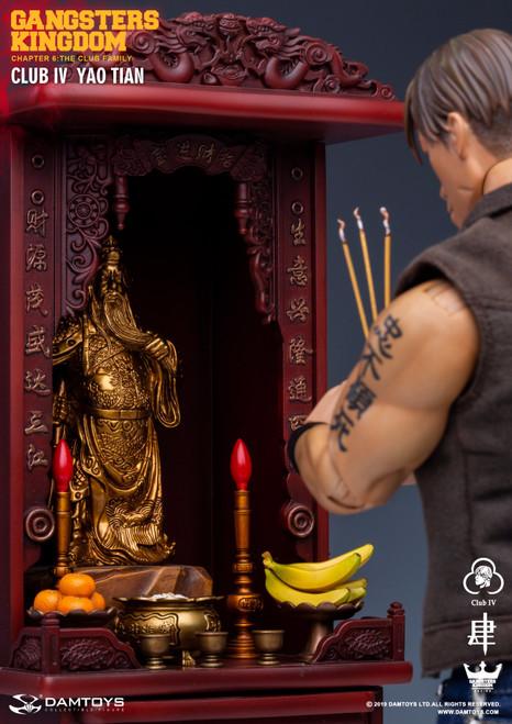 [DAM-GK019AB] 1:6 Club 4 YaoTian Figure + Tabernacle in Gangsters Kingdom by DAM TOYS