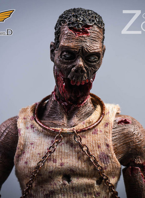 [PW-2012C] 1/12 Zombies Version C Action Figure by Pocket World