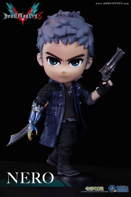 """[ASM-QB007] 4"""" Tall in Devil May Cry 5 Nero Figure by Capcom Asmus Toys"""
