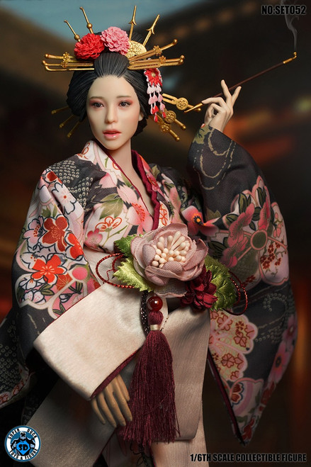[SUD-SET052] 1/6 Japanese Geisha Kimono Set by Super Duck for TBLeague S12D