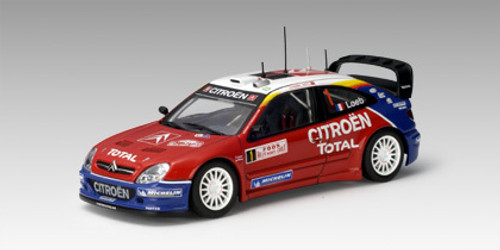 AUTOART 1/43 Citroen Xsara WRC 2005 S. Loeb / D. Elena #1- Winner Of Monte Carlo (AUTO-60537)