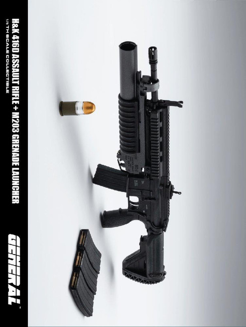 [GA-001] 1/6 Scale 416D Assault Rifle by General