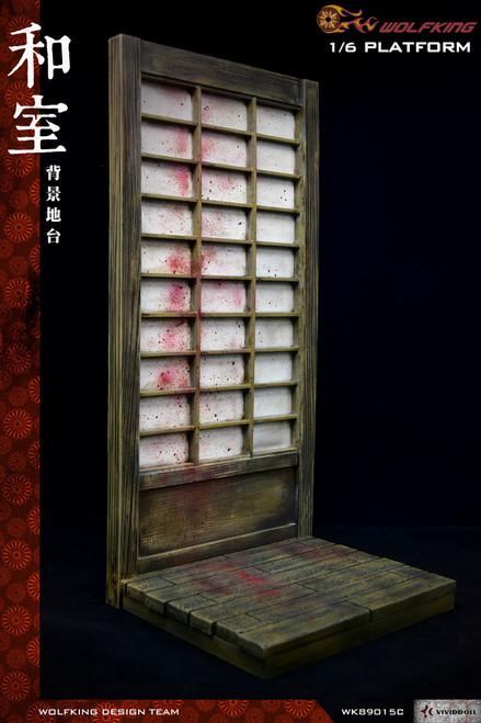 [WK-89015C] 1/6 Washitsu Background Platform by Wolf King