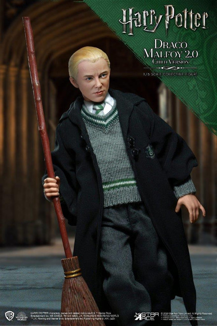 [SA-0028A] Star Ace Draco Malfoy 2.0 School Uniform 1:6 Collector Figure